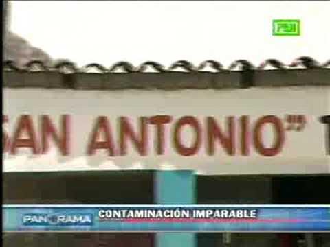 CONTAMINACION RIO MANTARO YAULI TUNEL KINGSMILL PANORAMA