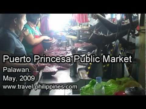 Puerto Princesa Public Market, Palawan