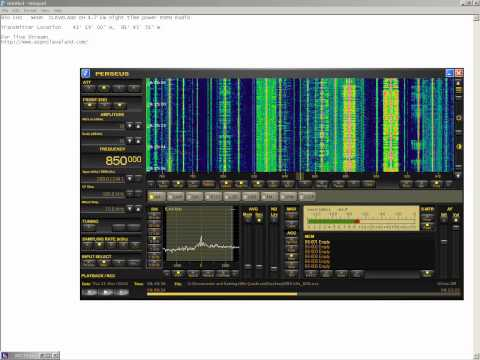 MW DX Europe-USA ESPN Radio 850 kHz   WKNR CLEVELAND.avi