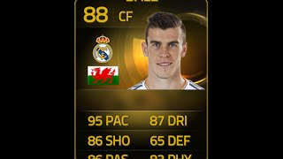 FIFA 15 IF BALE 88 Player Review & In Game Stats Ultimate Team