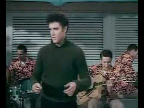 Elvis Presley Baby I Don't Care Colour Jailhouse Rock video