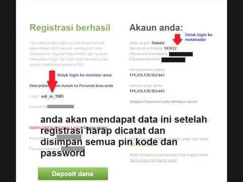 Modal forex gratis tanpa deposit