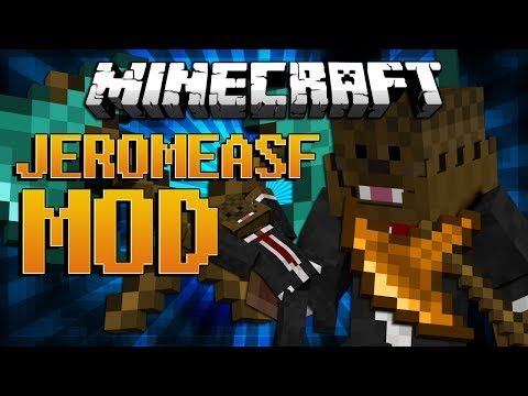 Minecraft JEROMEASF MOD Showcase (Team Crafted Mod)