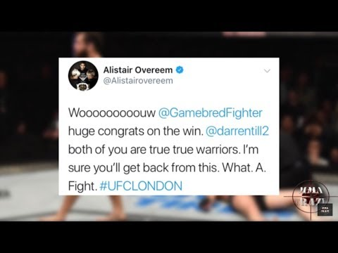 MMA Pros React to Jorge Masvidal nasty KO of Darren Till at UFC London