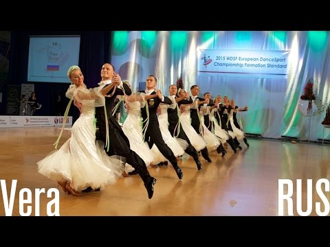 Vera, RUS | 2015 European STD Formation | DanceSport Total
