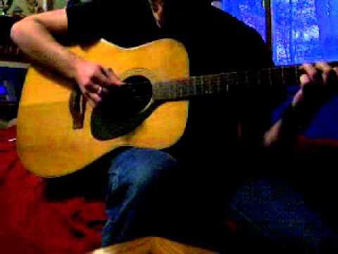 Wildwood Flower Bluegrass Crosspicking Guitar