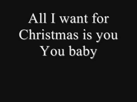 Christmas - All I Want for Christmas Is You Lyrics
