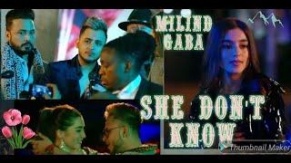 She Don_t Know_ Millind Gaba Song _ Shabby  Like app video Tik tok popular video by Gj Kumar Dancer