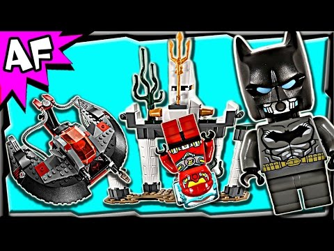 Batman BLACK MANTA Deep Sea Strike 76027 Lego DC Comics Super Heroes Stop Motion Set Review