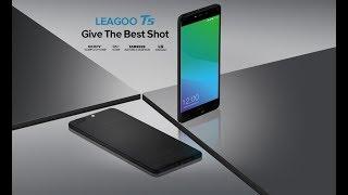 Leagoo T5 5.5'' FHD Dual Rear Cameras Fingerprint 4GB RAM 64GB ROM MTK6750T Octa-Core 4G Smartphone