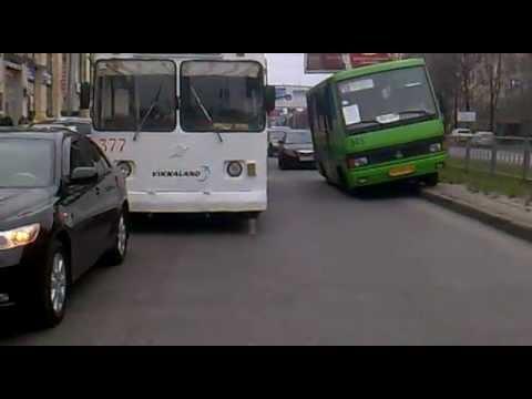 Харьков. Олень на проспекте Ленина