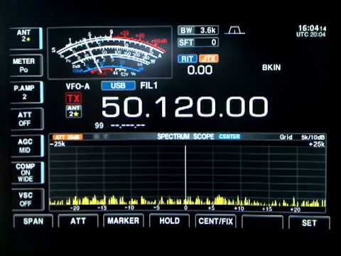 EA6DX Balearic Island + VE3EN on SSB - 6 Meter Es (6-17-2009) - HD Format.flv