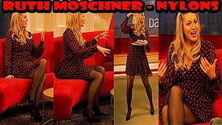 Ruth Moschner HD Nylons Pantyhose Collant Strumpfhose on NDR DAS