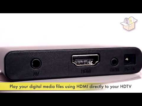 Sumvision Cyclone Micro 2+ - 1080p HD Media Player - MKV / H264 / RMVB / 5.1 Surround Audio