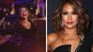 Carrie Ann Inaba Falls on 'DWTS!' The Best Reactions (Exclusive)
