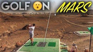 Playing Golf...ON MARS! Desert Golf in Oman