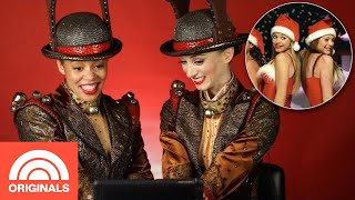 Rockettes React To 6 Christmas Movie Dance Scenes | TODAY Original