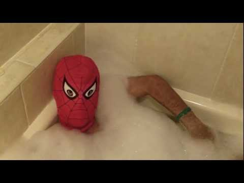 Spiderman Moment - Bath Time