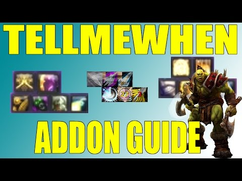 TellMeWhen Addon Guide WoW MoP