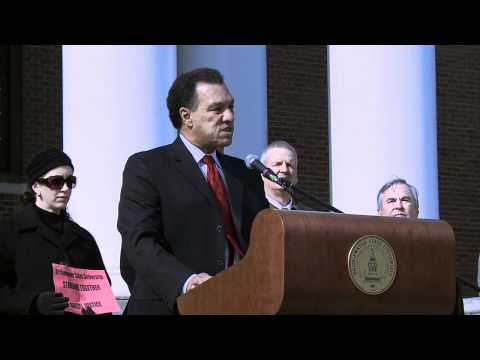 Rally for Equality: President Dana Mohler-Faria