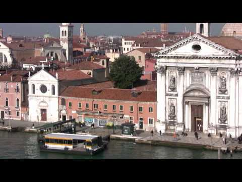 Arriving in Venice, Italy by ship -Brilliance of the Seas  (HD video)