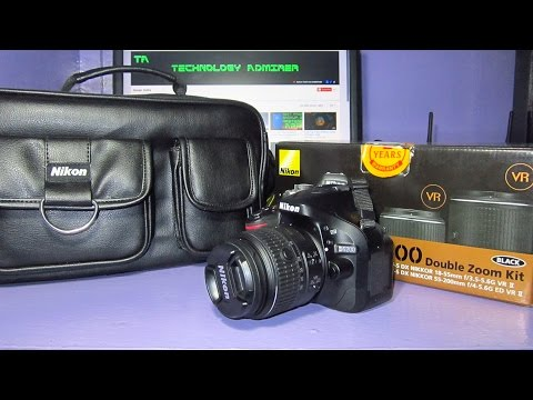 Nikon D5200 Unboxing India 2015-2016 with sample images/photos & sample slow motion video test