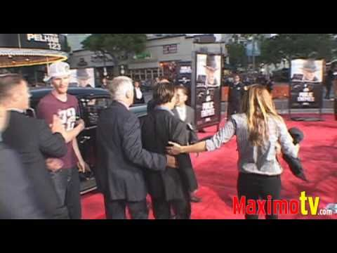 Johnny Depp at PUBLIC ENEMIES LA Premiere June 23, 2009