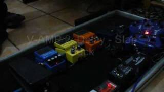 Pedalboard Demo Test / including: Boss CS-3, SD-1, DS-1