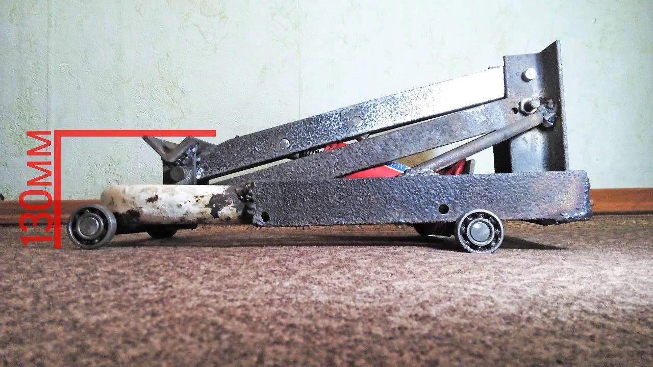 Автомобильный гидравлический подкатной домкрат ремонт своими руками 11