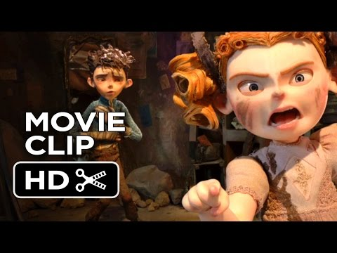 The Boxtrolls Movie CLIP - Winnie Takes Charge (2014) - Elle Fanning Stop-Motion Animated Movie HD