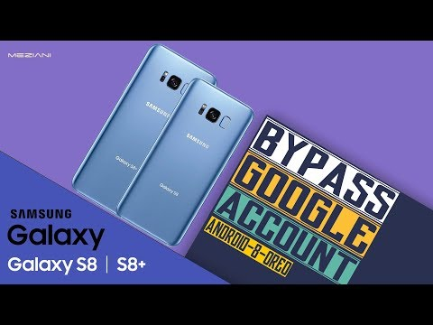 Remove FRP SAMSUNG GALAXY S8 S8+ Without Computer  Android 8