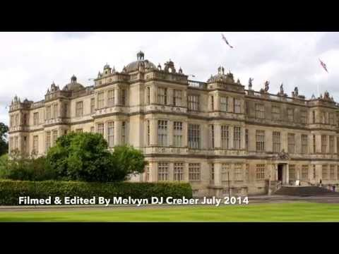 Longleat House English Stately Home.  Seat Of The Marquesses of Bath July 2014