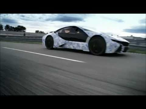 ► BMW Vision EfficientDynamics - driving