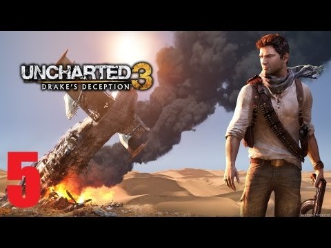 Uncharted 3: Drake's Deception Story Walkthrough (Part 5)