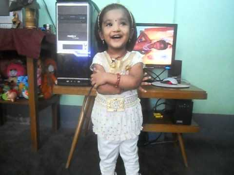 Laasya Singing Chitti Chilakamma.avi video