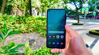 Galaxy A60 First Look - Punch Hole on a Budget!