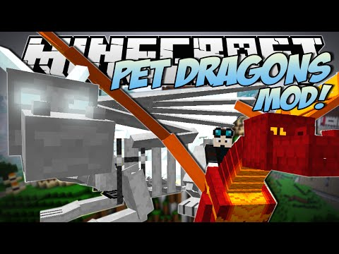 Minecraft   PET DRAGONS MOD! (Tame. Mount & Fly Your Own Dragon!)   Mod Showcase