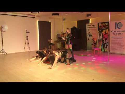 Ellen и vocal шоу-балет Sin Sisters Show