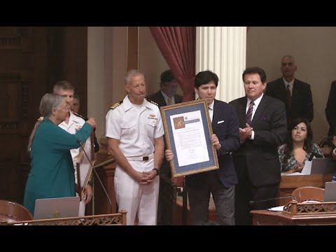 Sen. De León - CA State Senate Salutes Navy & Marine Corps  Efforts in Achieving Energy Independence