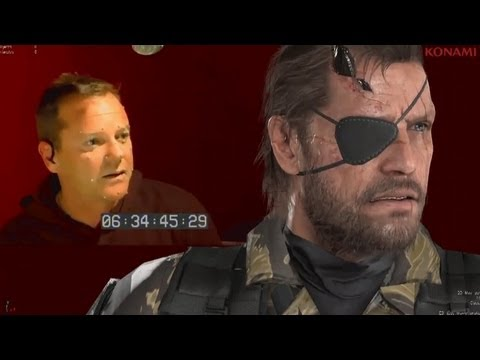 Metal Gear Solid 5 - Meet The NEW Snake (Kiefer Sutherland)
