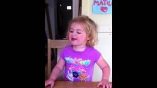 Matilda singing Fara jaka