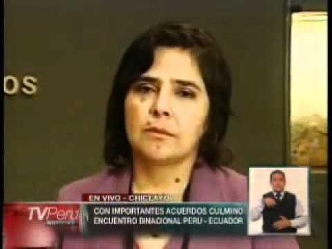 Ministra de la Mujer destacó acuerdos alcanzados con Ecuador