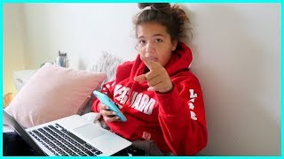 Telling my MOM I'm dropping out of SCHOOL | SISTERFOREVERVLOG #561