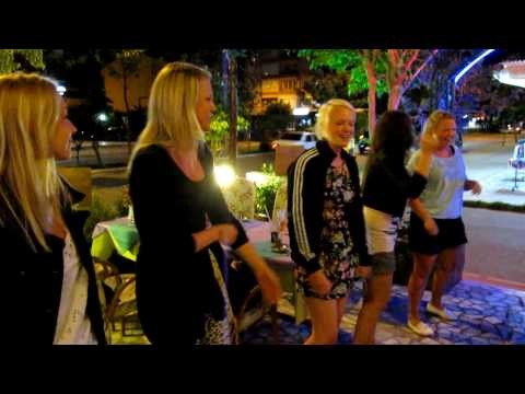 Swedish girls dancing in Alanya 2