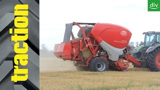 Lely Welger CB in der traction-Arbeitsprobe