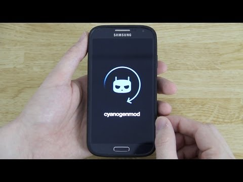 CyanogenMod 11 (CM11) on the Samsung Galaxy S4! (Install. Setup. First Look. and etc)