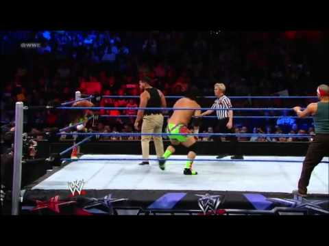 Camacho & Hunico Vs. Jey & Jimmy Uso | Wwe Superstars 04 26 12 video