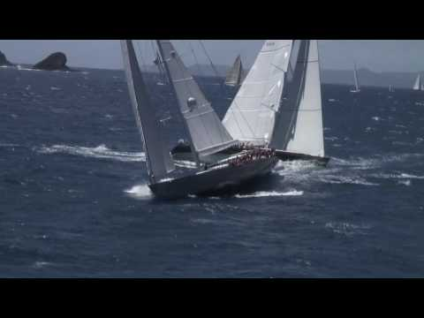 ... 35 of the most beautiful super yachts pursuit racing around the island.