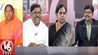 Special Debate On Mahakutami First List Announcement | Good Morning Telangana