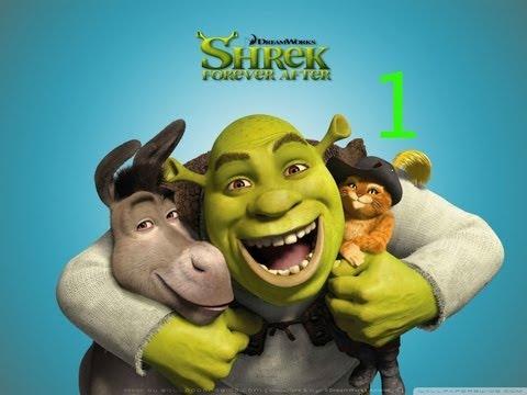 Shrek forever After The final chapter Let's Play walkthrough Part 1